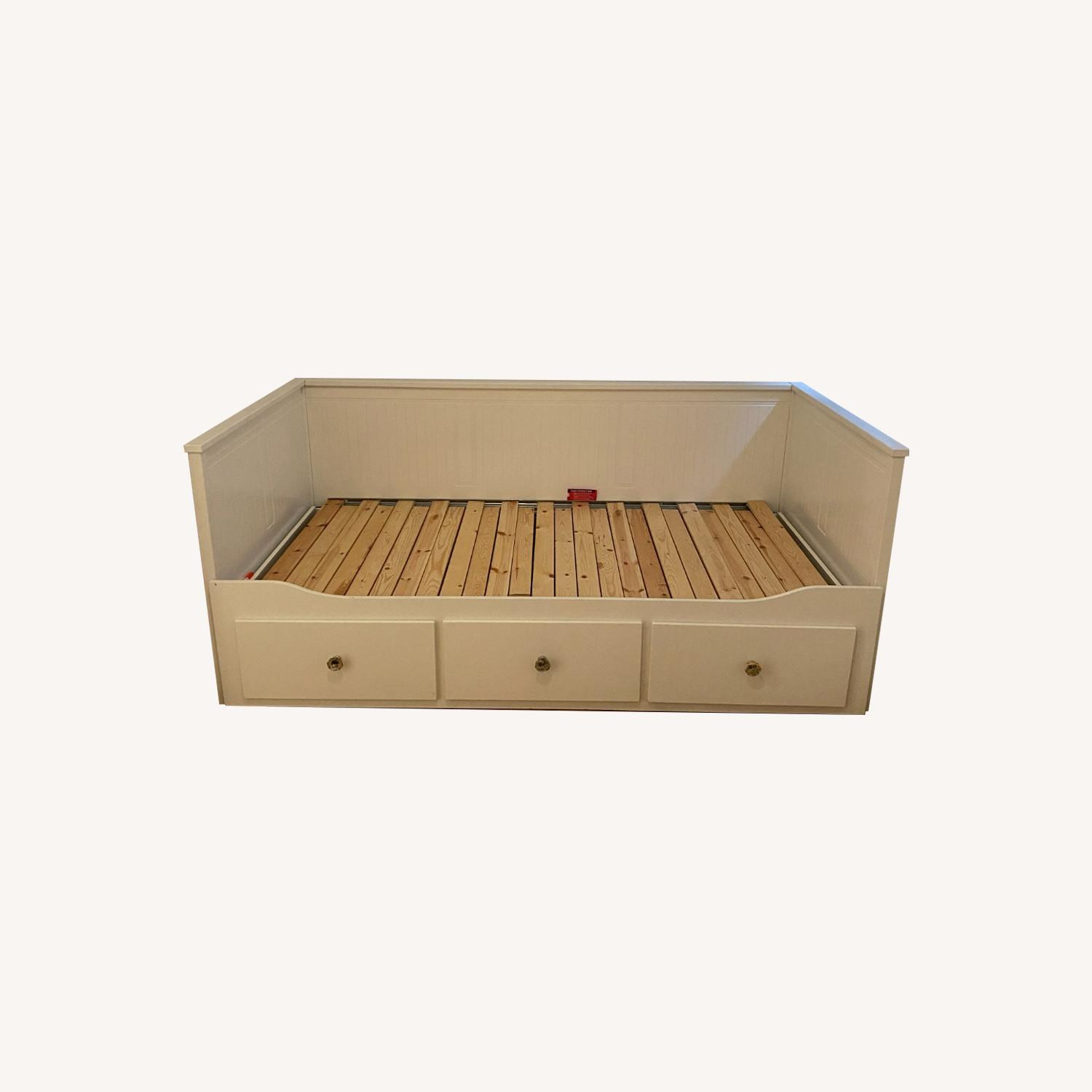 IKEA Hemnes Twin Daybed with Drawers & Trundle - image-0