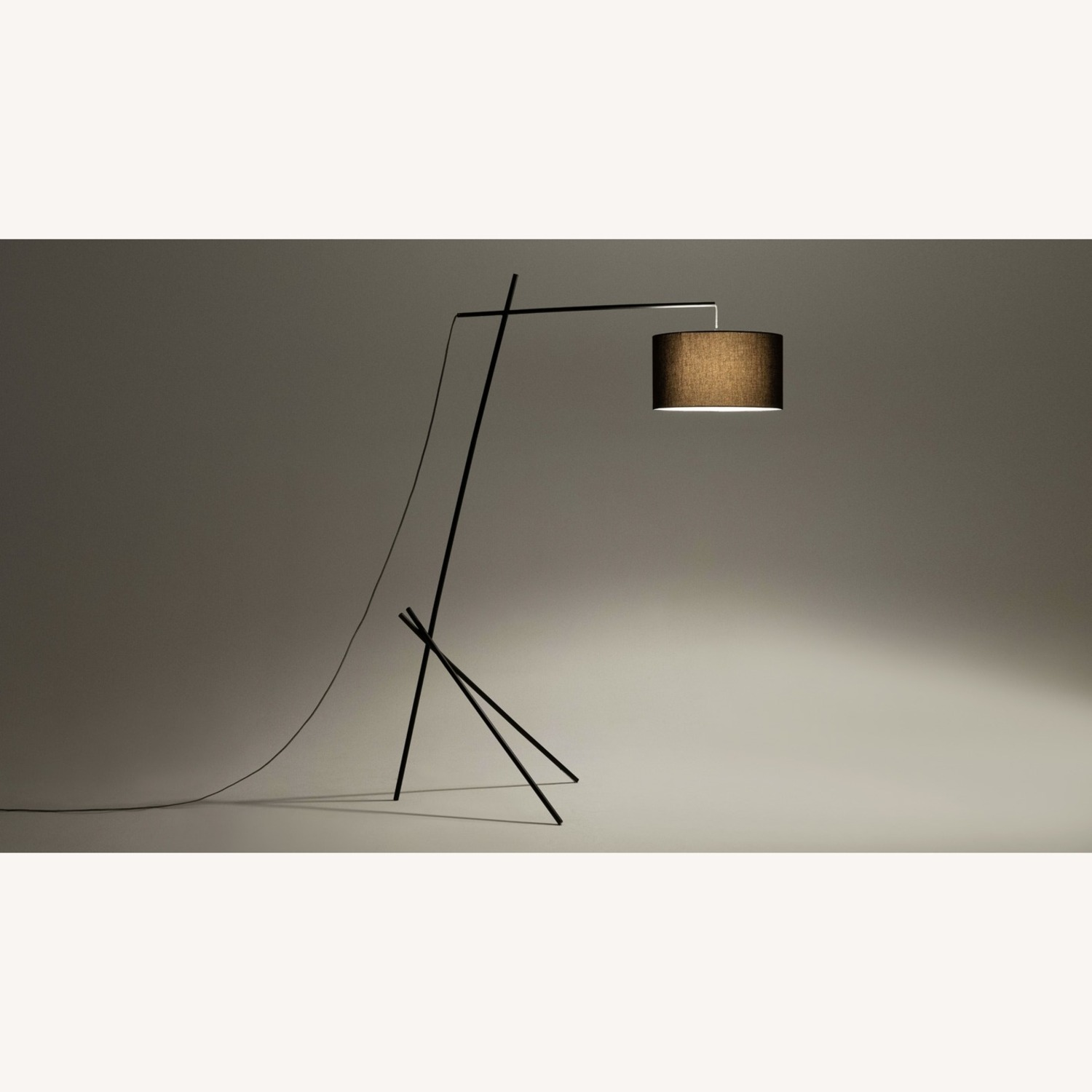 EQ 3 Arvid Floor Lamp - Black/Black - image-1