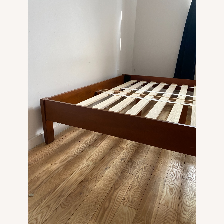 West Elm Simple Bed Frame Queen - Acorn - image-2