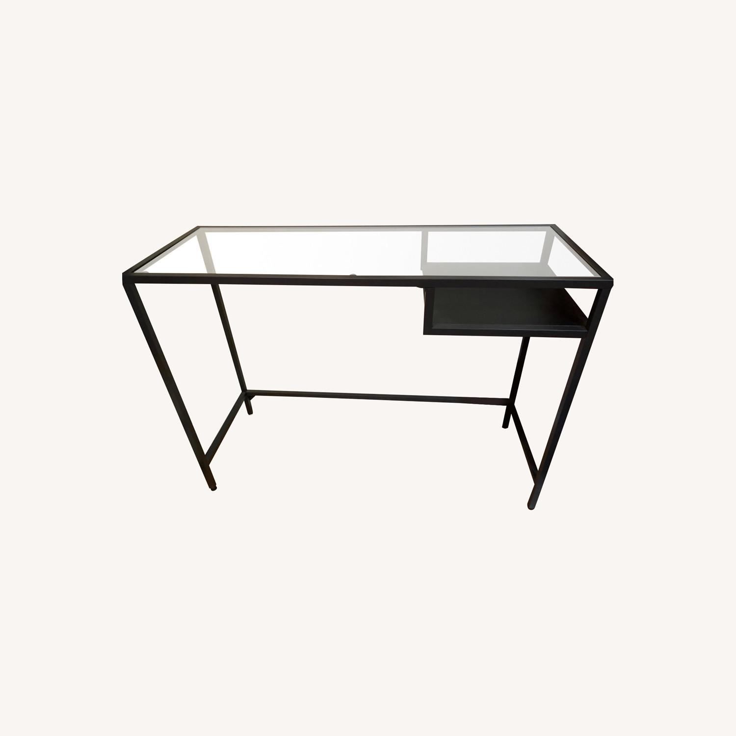 IKEA VITTSJ Laptop Table - image-0