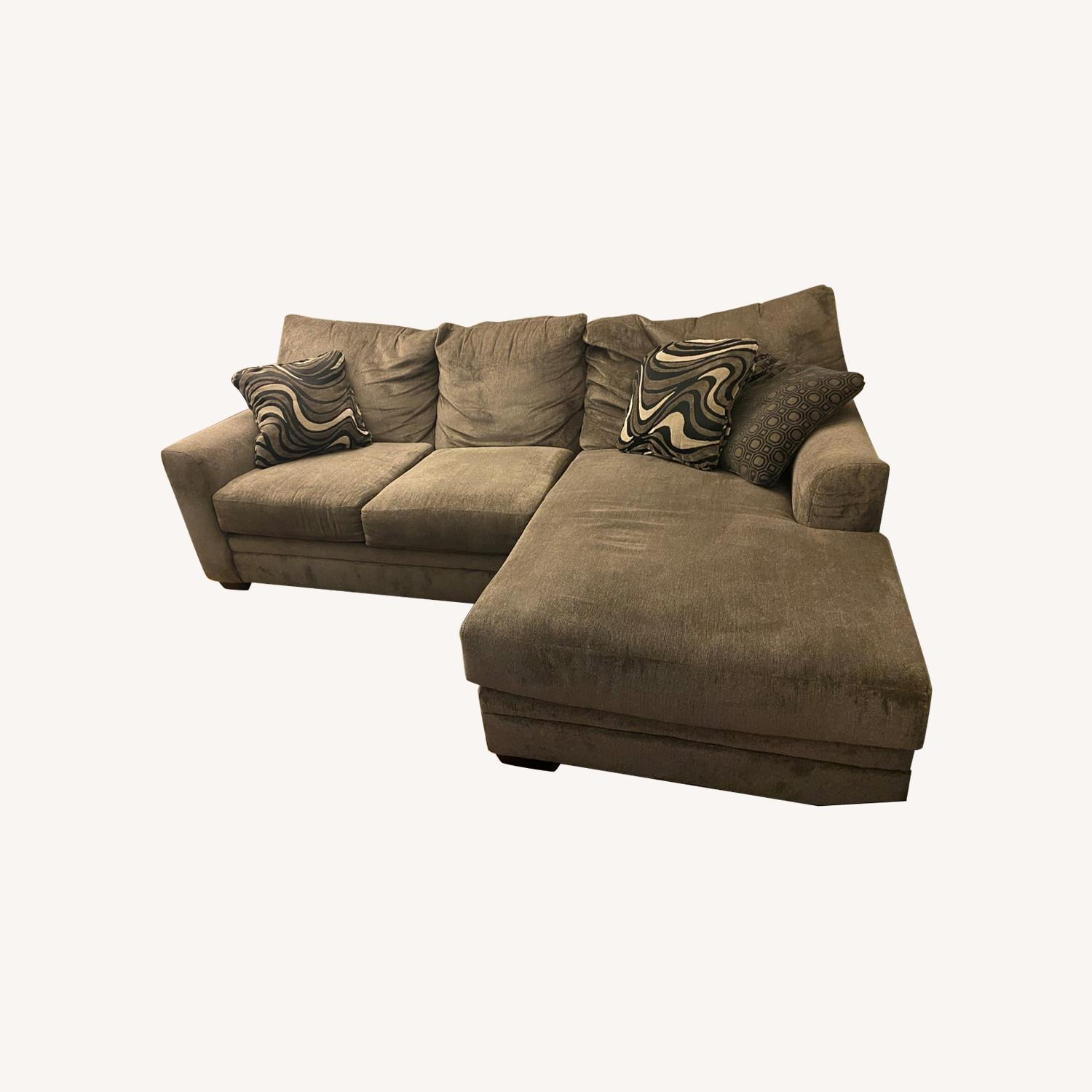 2 Piece Left Arm Facing Sectional with Chaise - image-0