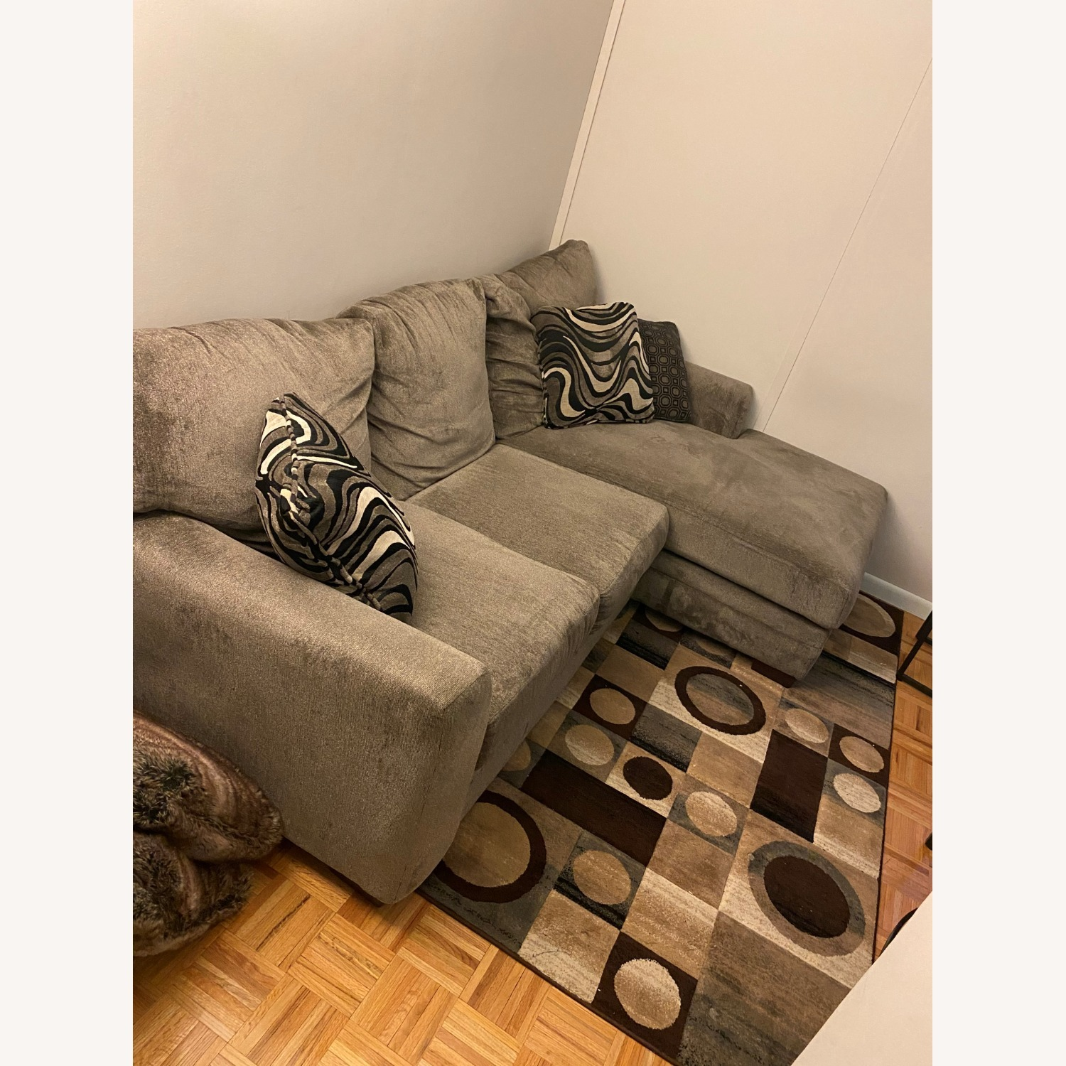 2 Piece Left Arm Facing Sectional with Chaise - image-2