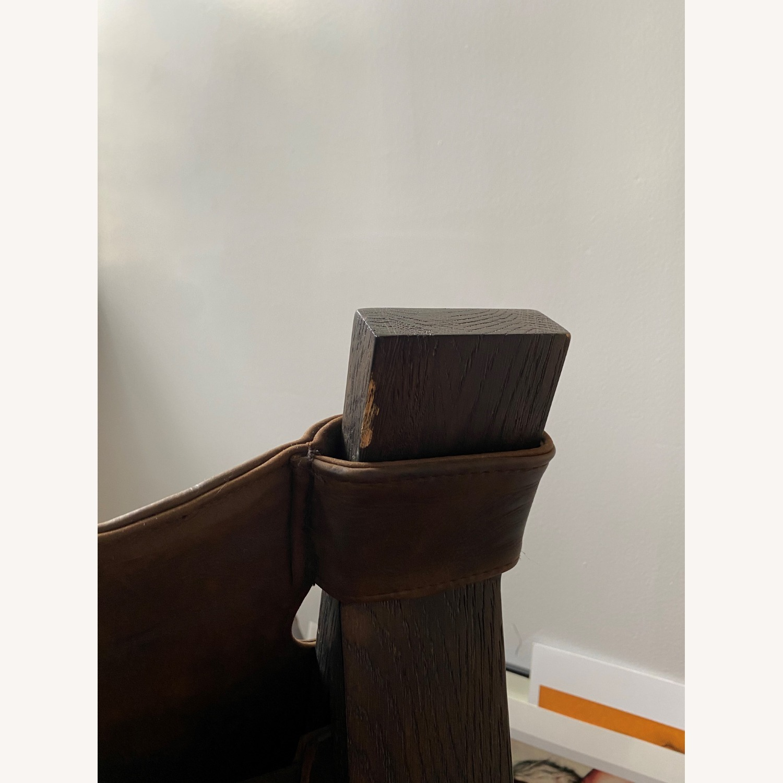 Restoration Hardware Soren Leather Chair - image-6