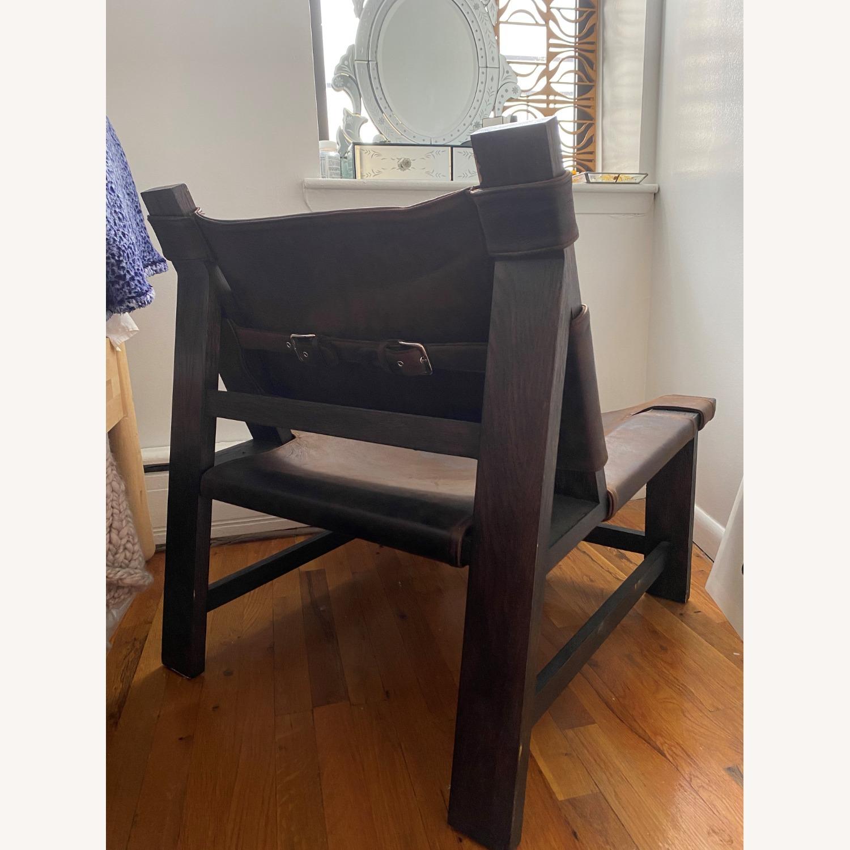 Restoration Hardware Soren Leather Chair - image-3