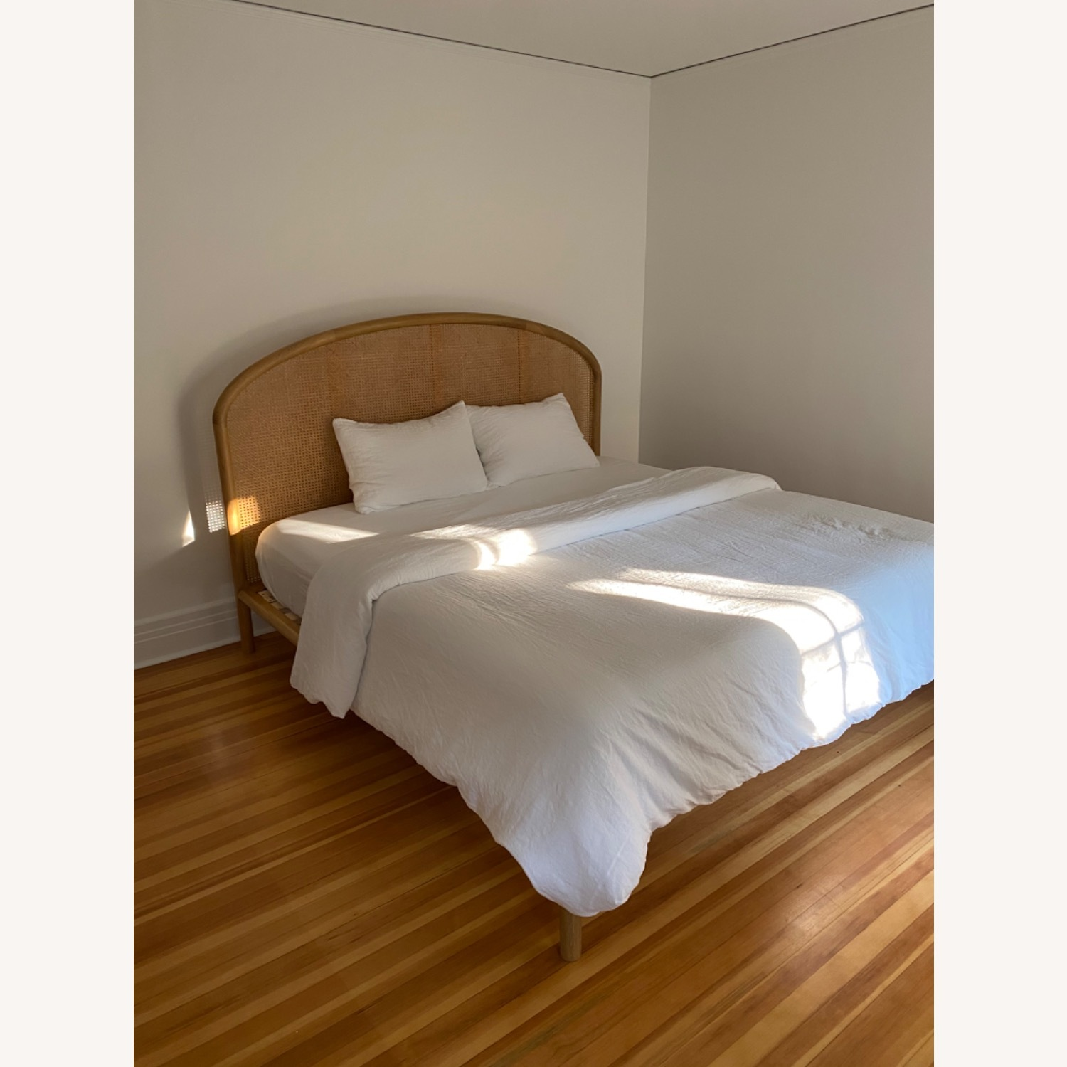 CB2 Rattan King Bed - image-3