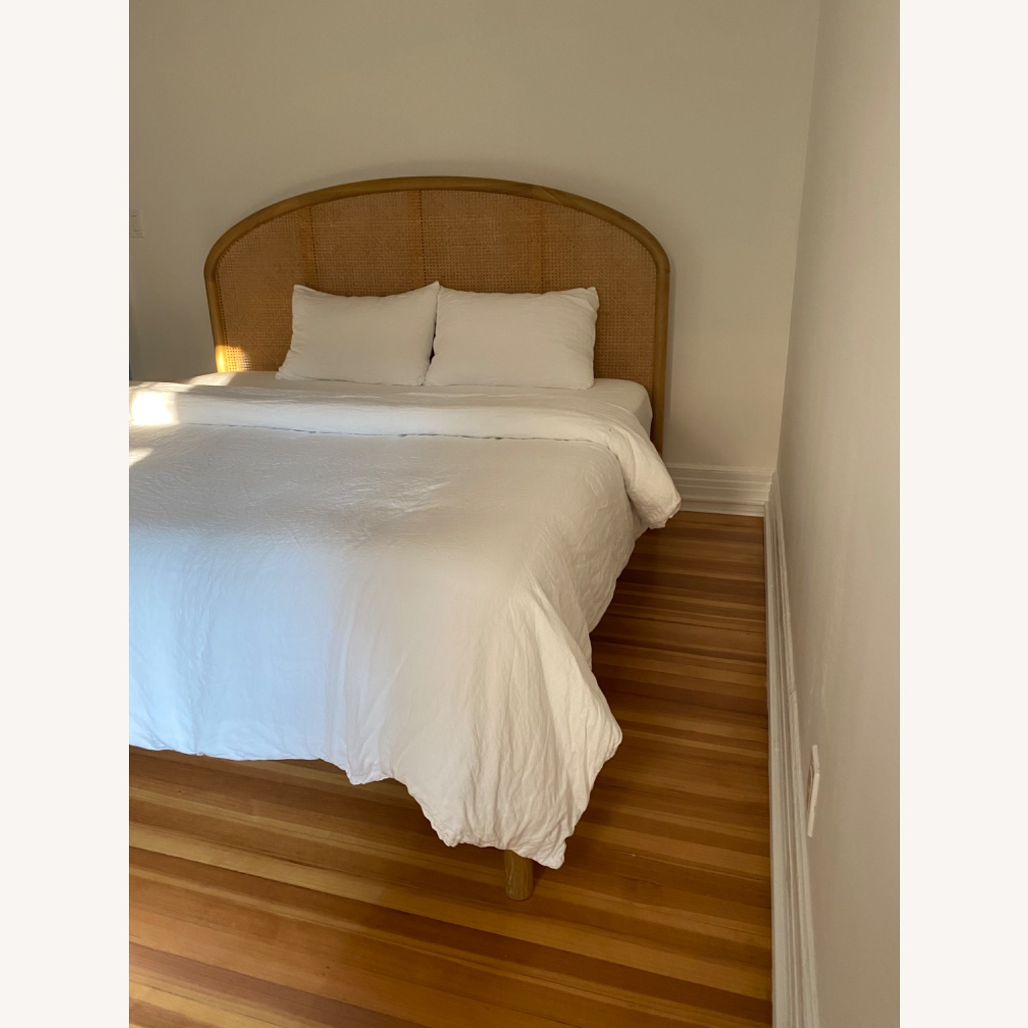 CB2 Rattan King Bed - image-4