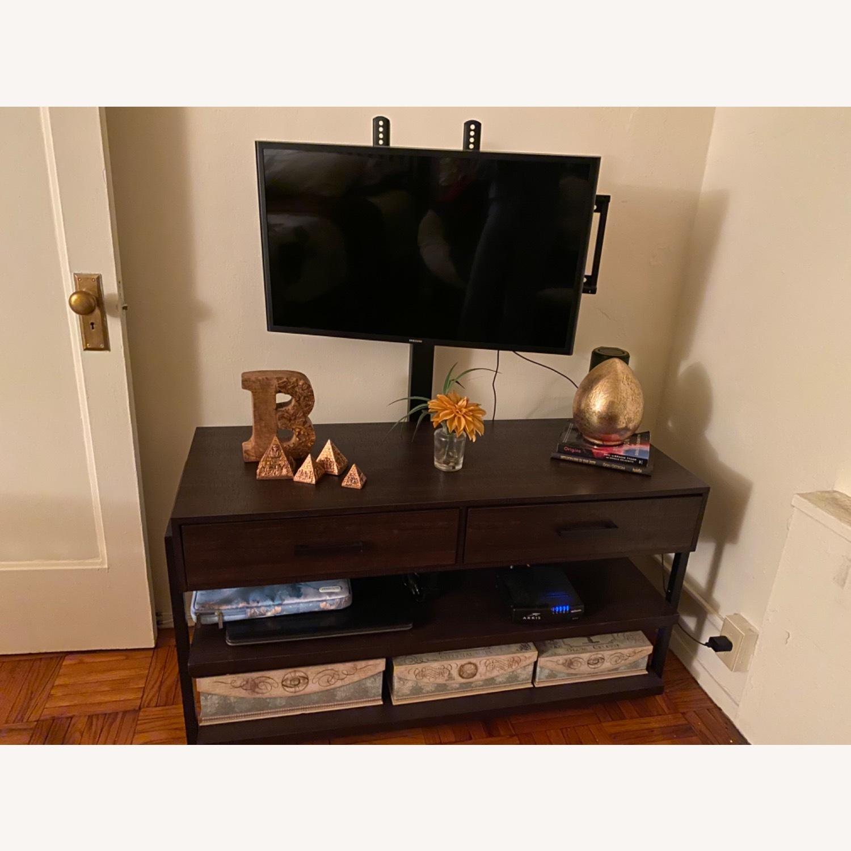 Target Espresso TV Stand with Storage - image-3