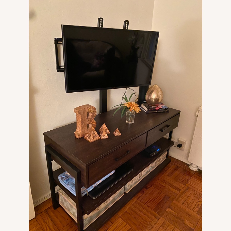 Target Espresso TV Stand with Storage - image-2