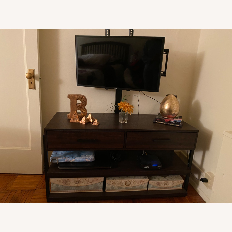 Target Espresso TV Stand with Storage - image-1