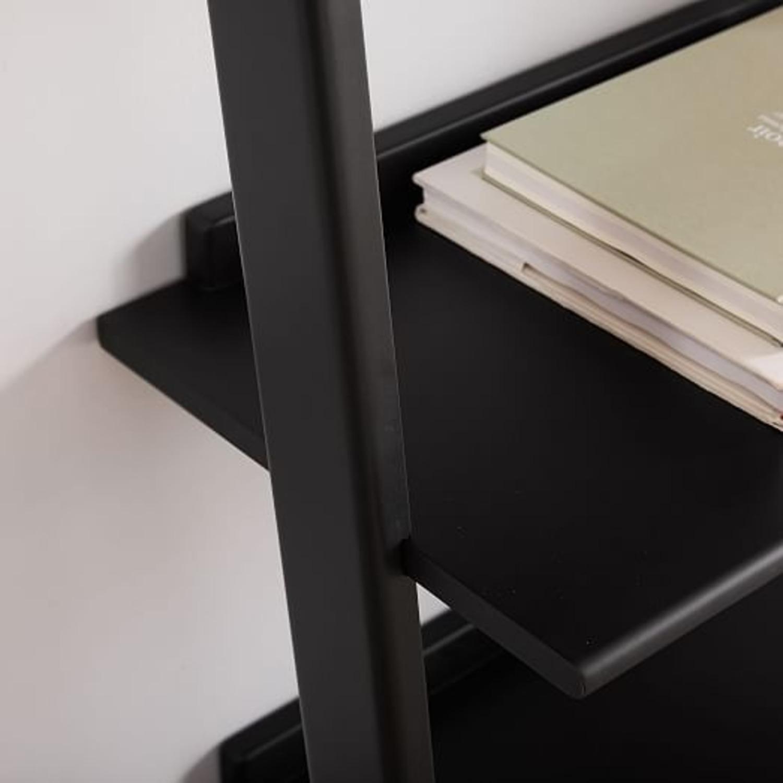 West Elm Leaning Bookcase - image-2
