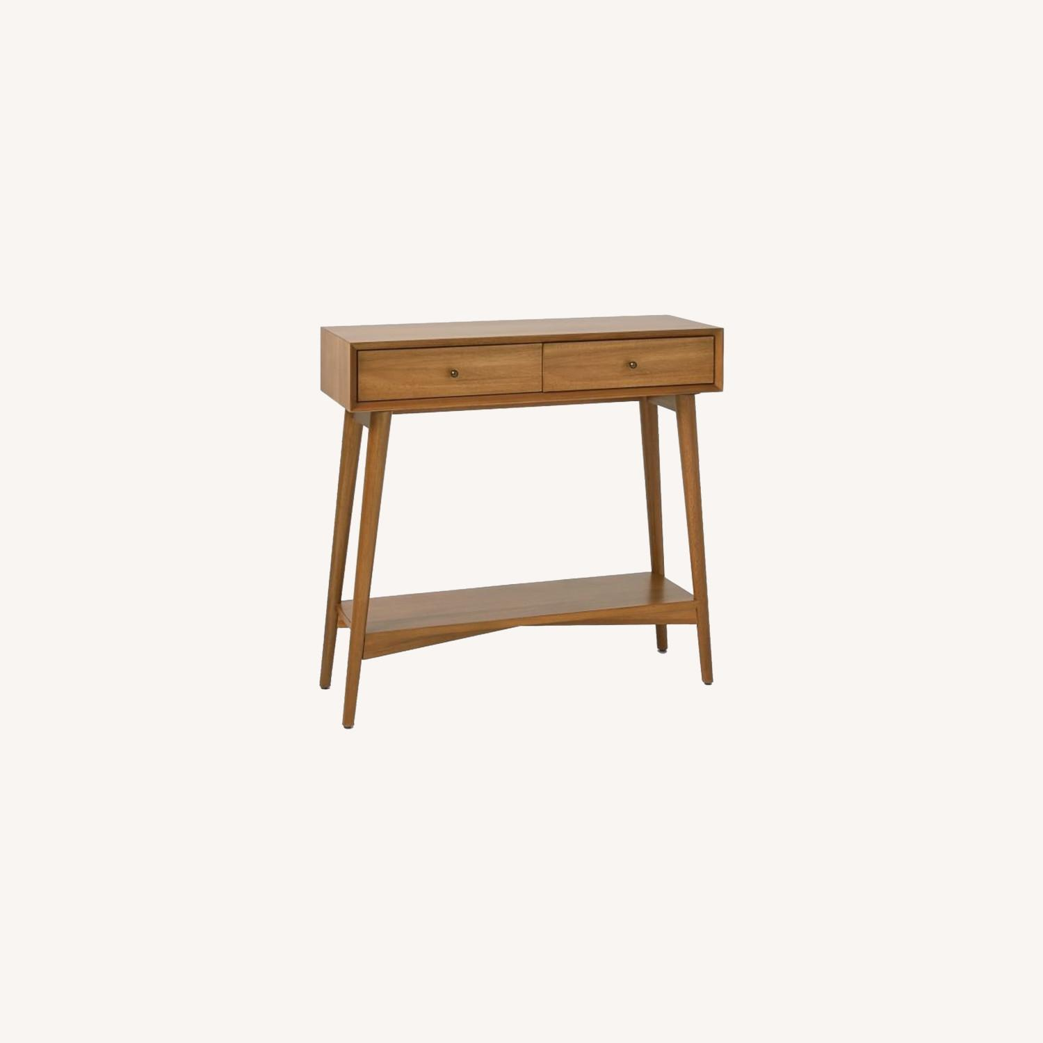 West Elm Mid Century Entry Table - image-0