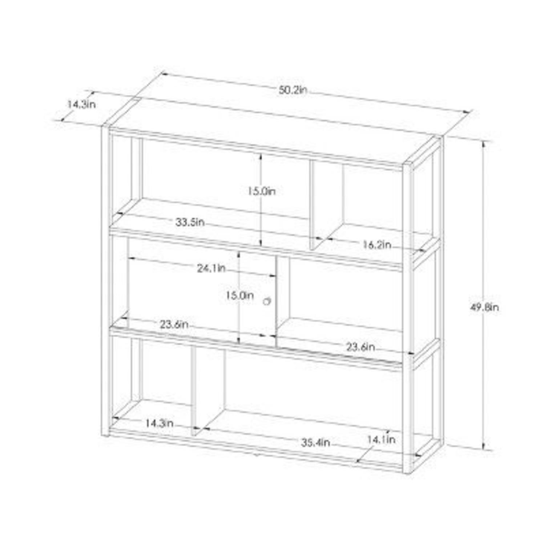 Target Project 62 3 Shelf Horizontal Bookcase - image-3