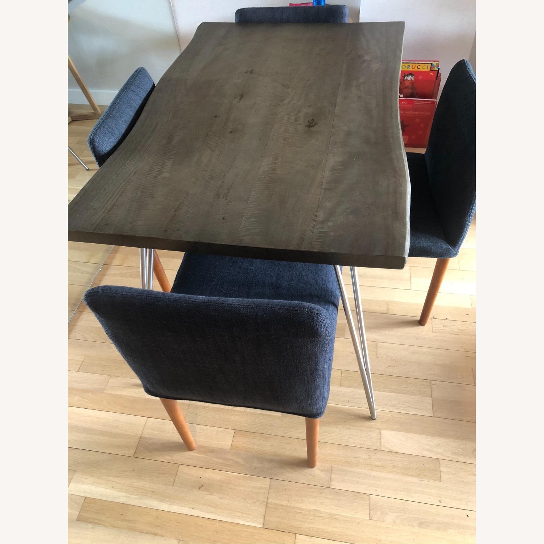 Custom Solid Teak Wood Table - image-1