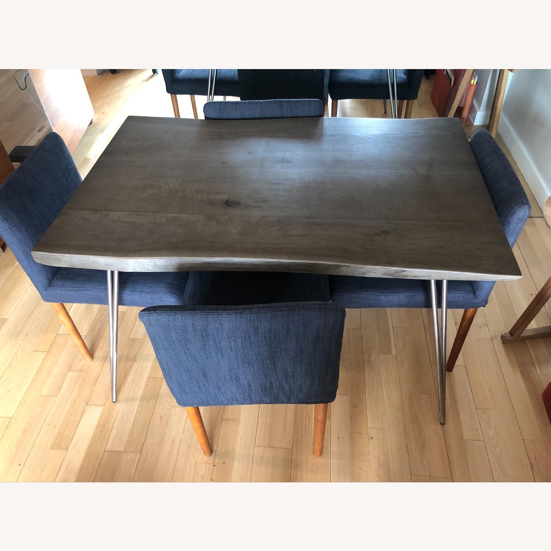 Custom Solid Teak Wood Table - image-0