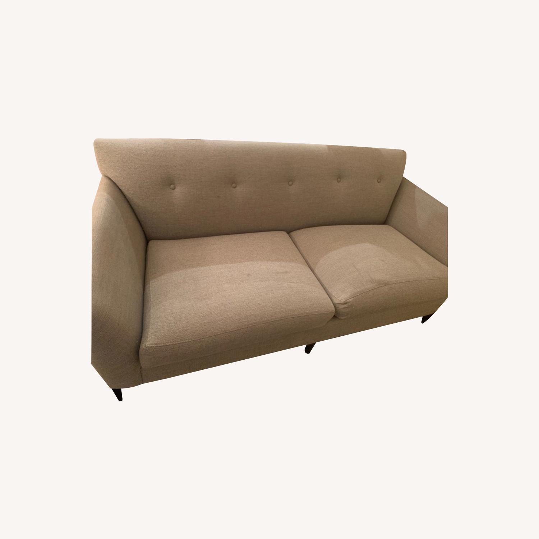 Room and Board Grey Sofa - image-0