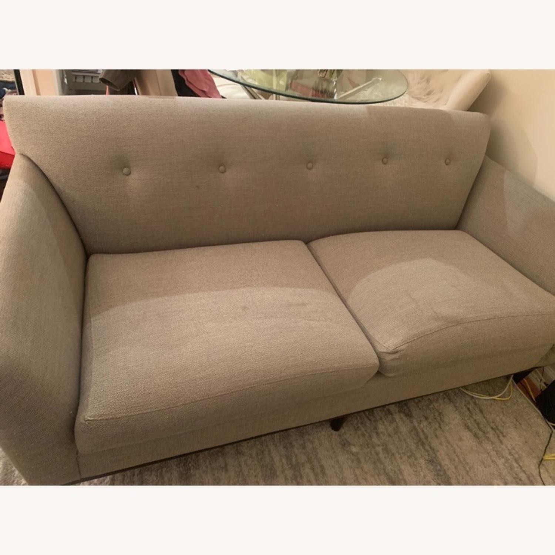 Room and Board Grey Sofa - image-1