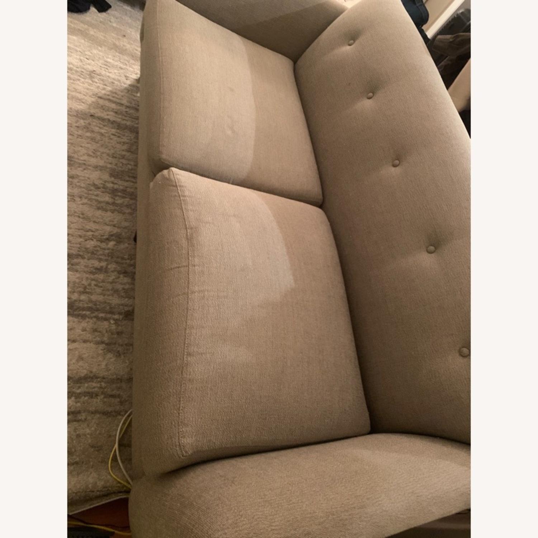 Room and Board Grey Sofa - image-3