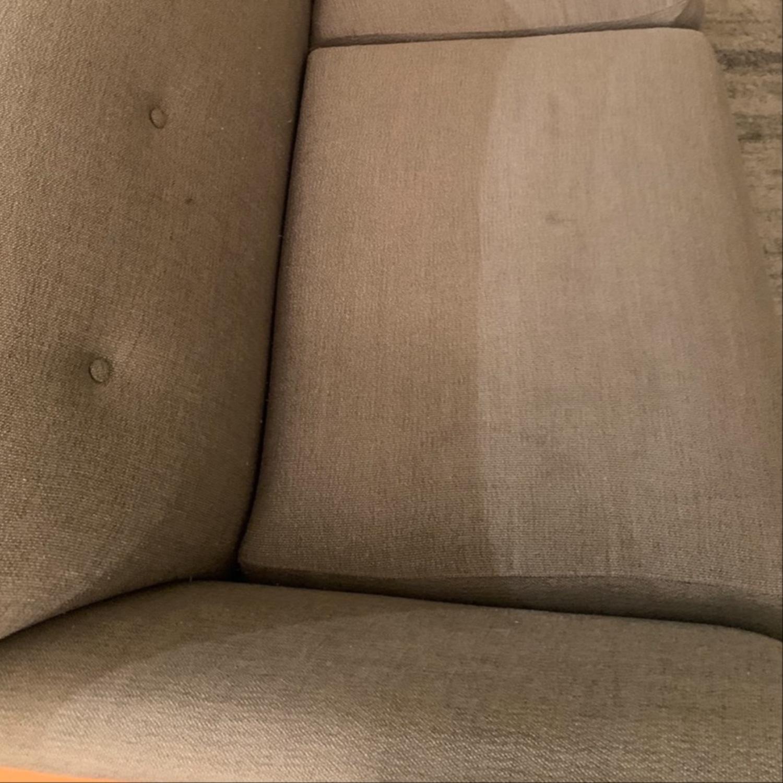 Room and Board Grey Sofa - image-4