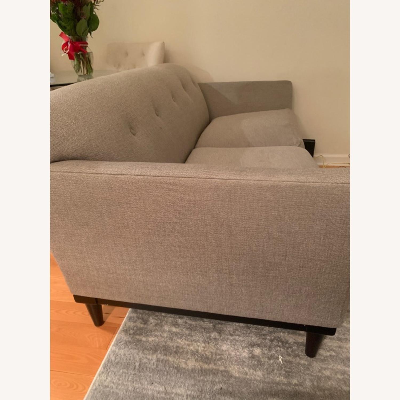 Room and Board Grey Sofa - image-2