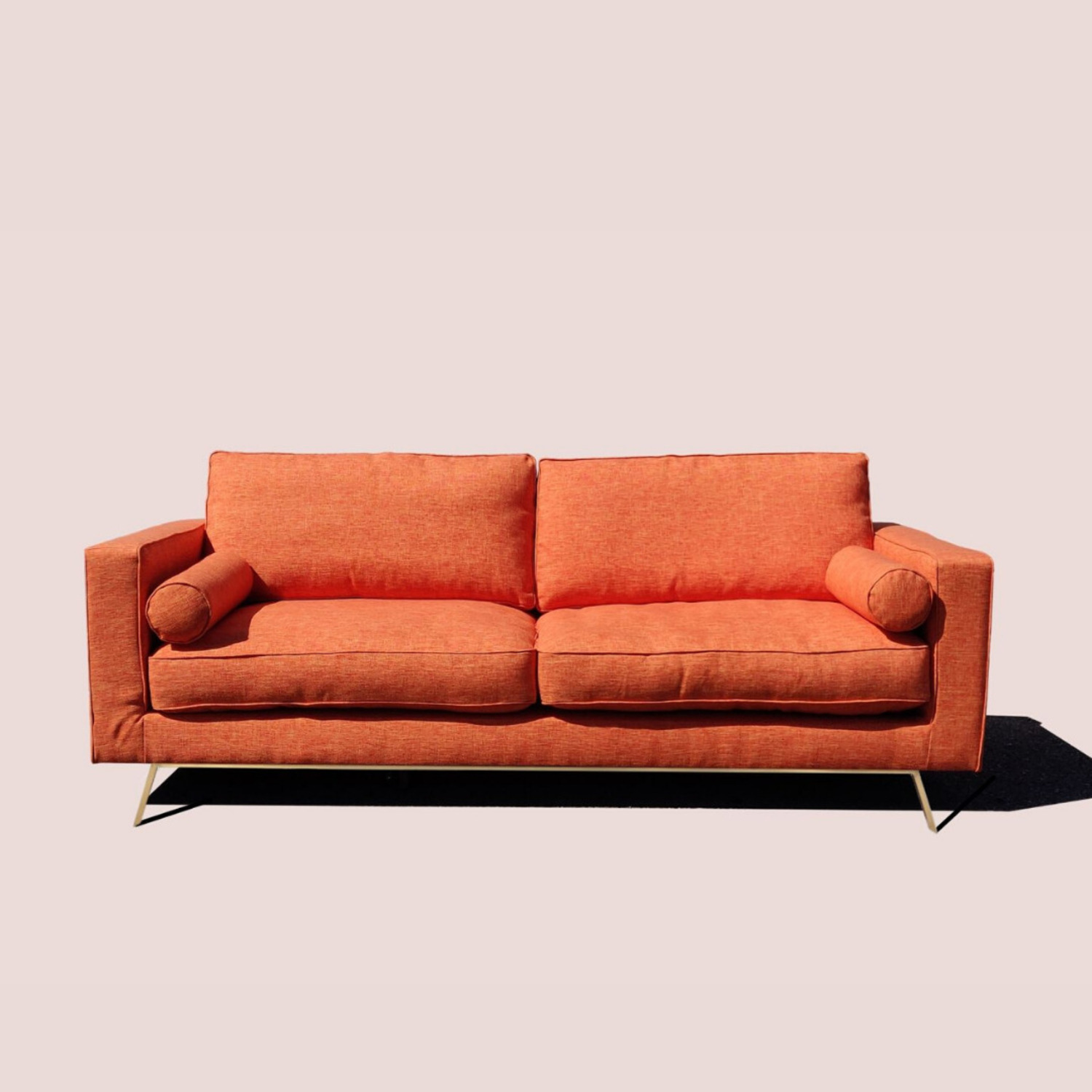 Brooklyn Space Introspect Mid Century Modern Sofa - image-1