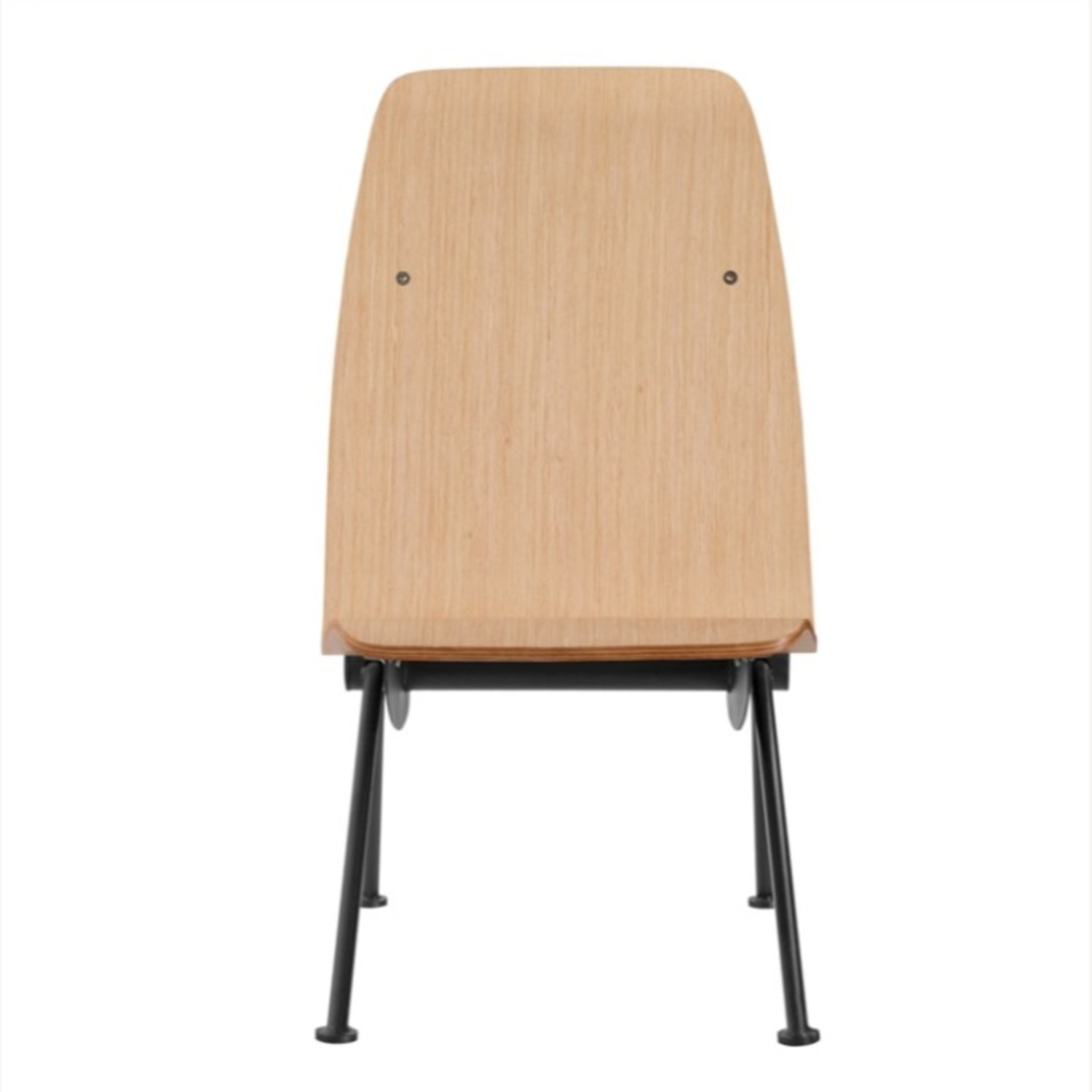 Contemporary Side Chair Crafted In Natural Plywood - image-2