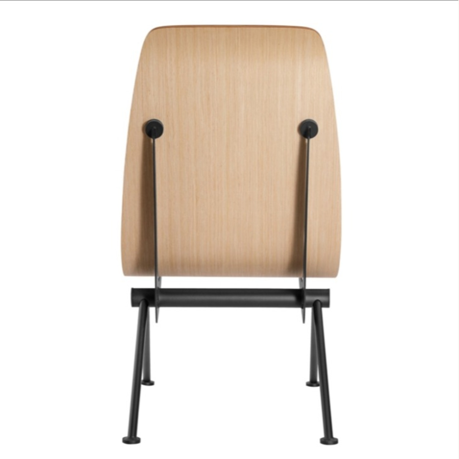 Contemporary Side Chair Crafted In Natural Plywood - image-3