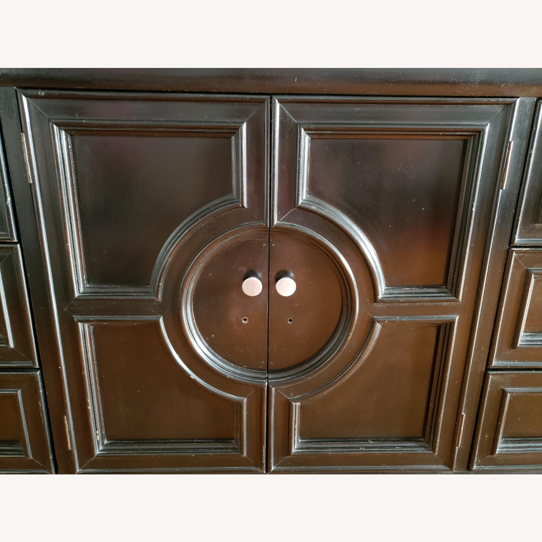 Century Furniture Wood 9 Drawer Dresser - image-7