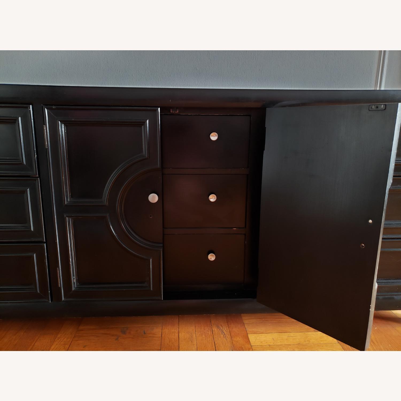 Century Furniture Wood 9 Drawer Dresser - image-8