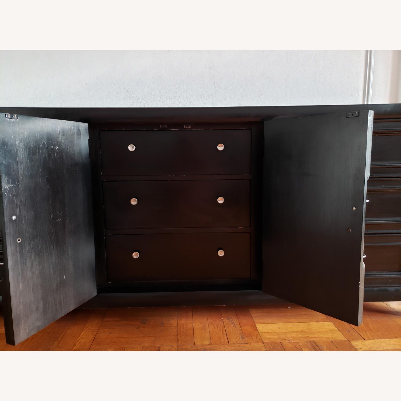 Century Furniture Wood 9 Drawer Dresser - image-9