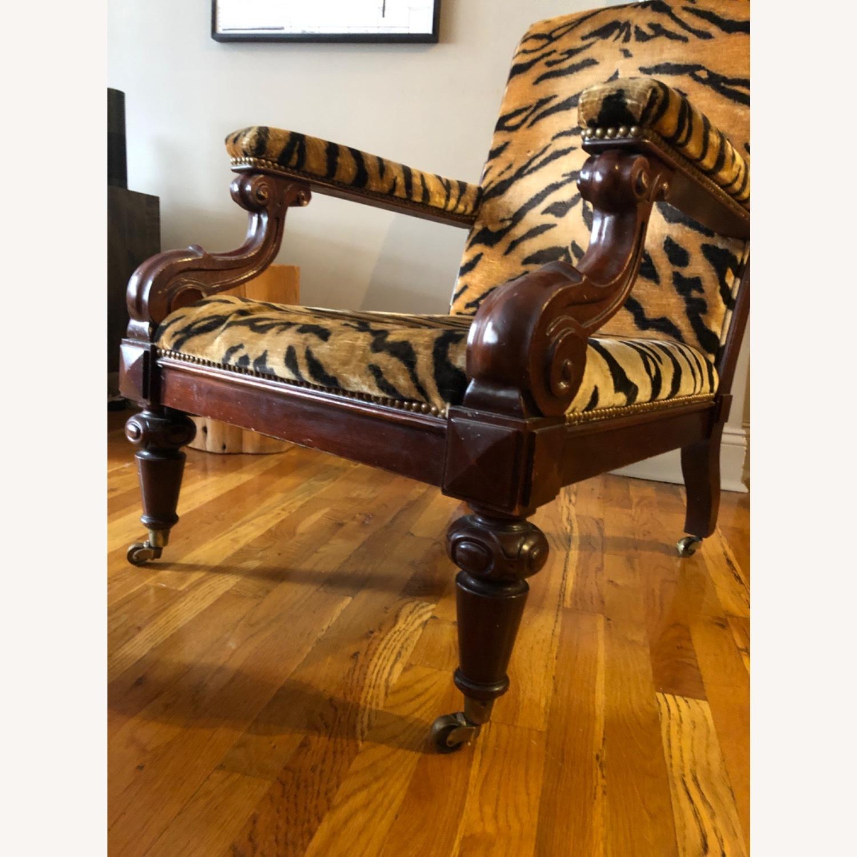 Ralph Lauren Chair and Ottoman - image-5