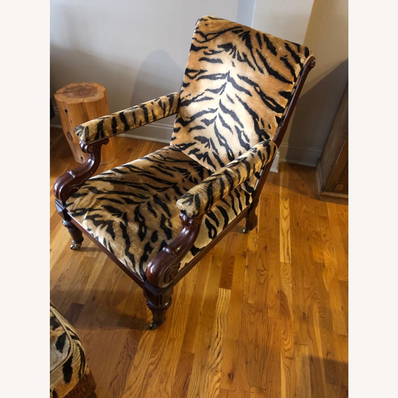 Ralph Lauren Chair and Ottoman - image-3