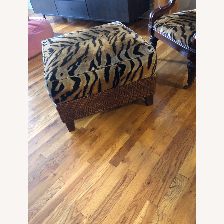 Ralph Lauren Chair and Ottoman - image-2