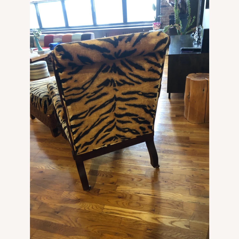 Ralph Lauren Chair and Ottoman - image-4