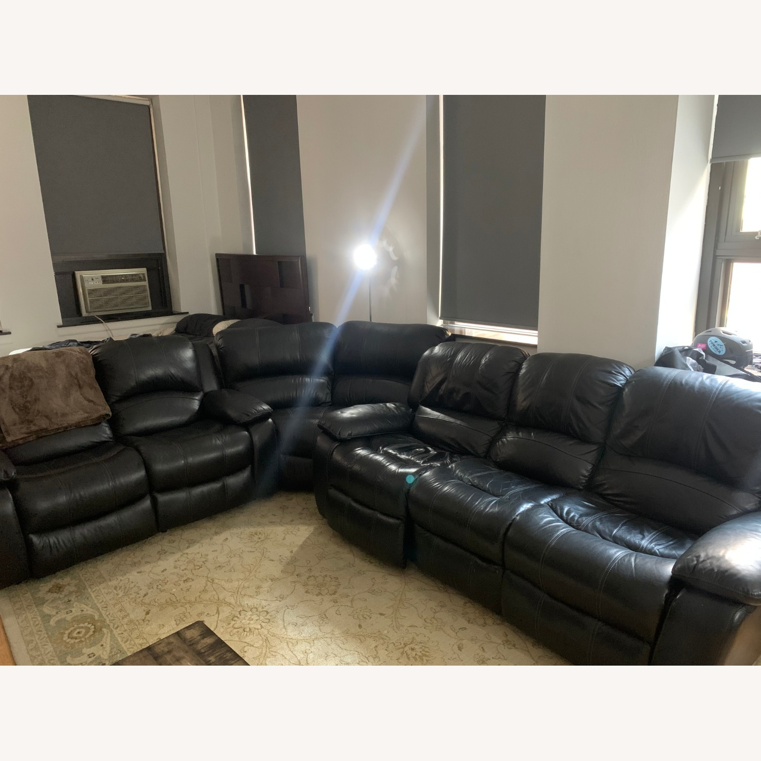 Raymour & Flanigan 3-piece Couch Set - image-1