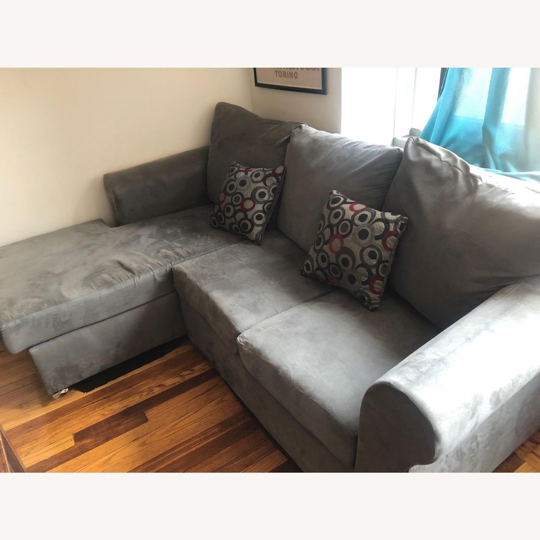 Wayfair Sectional Sofa - image-1