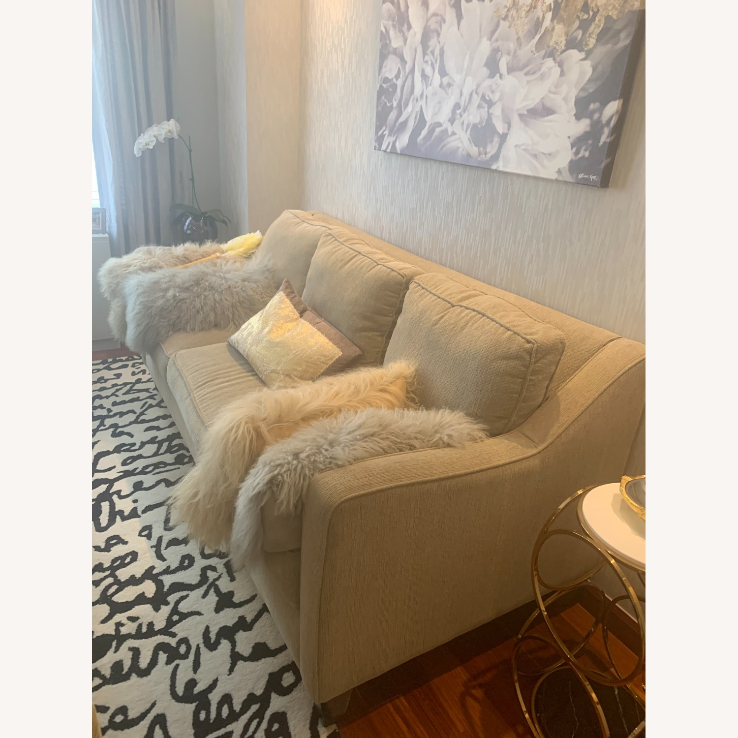 Bloomingdales Exclusive 3 Seater Fabric Sofa - image-3