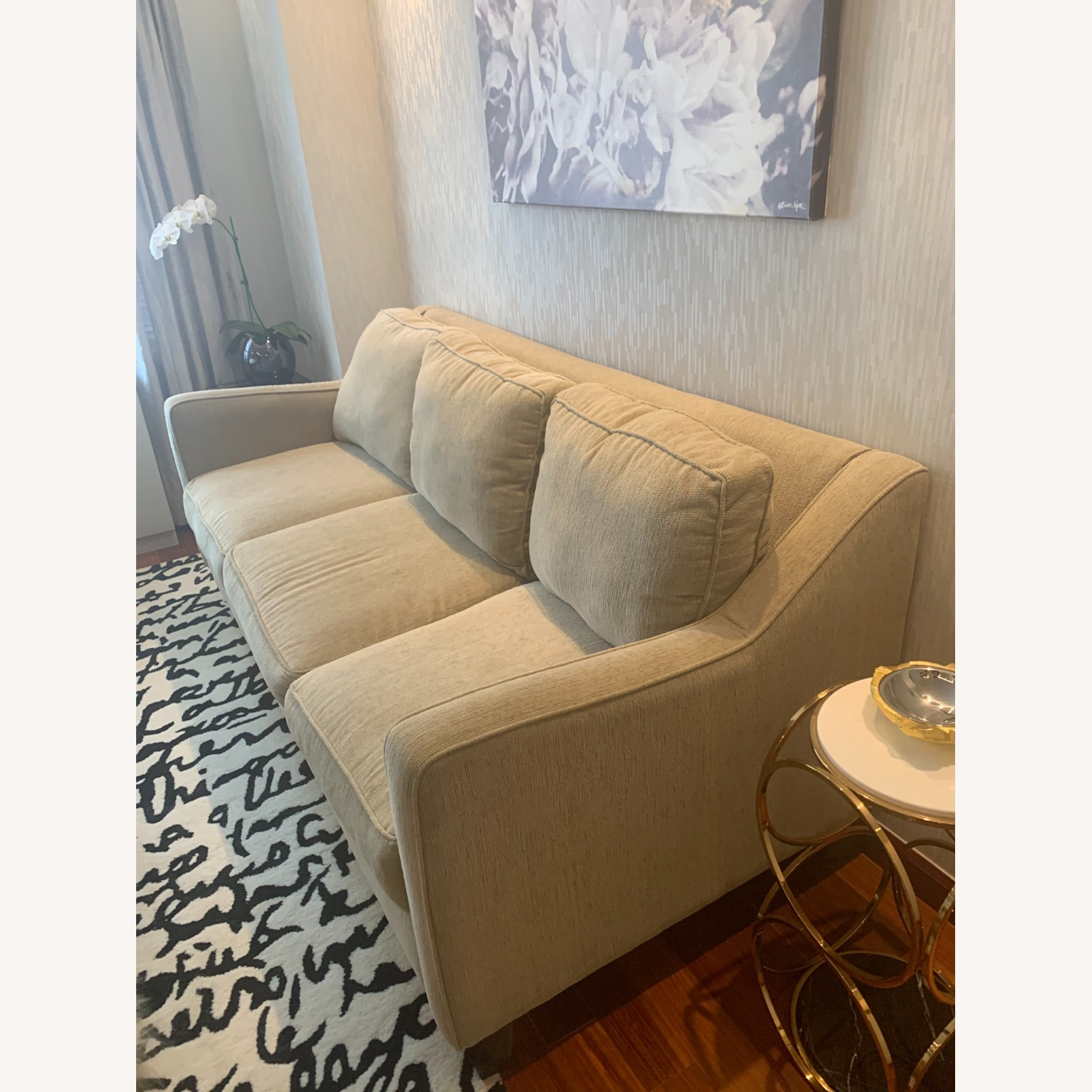Bloomingdales Exclusive 3 Seater Fabric Sofa - image-2