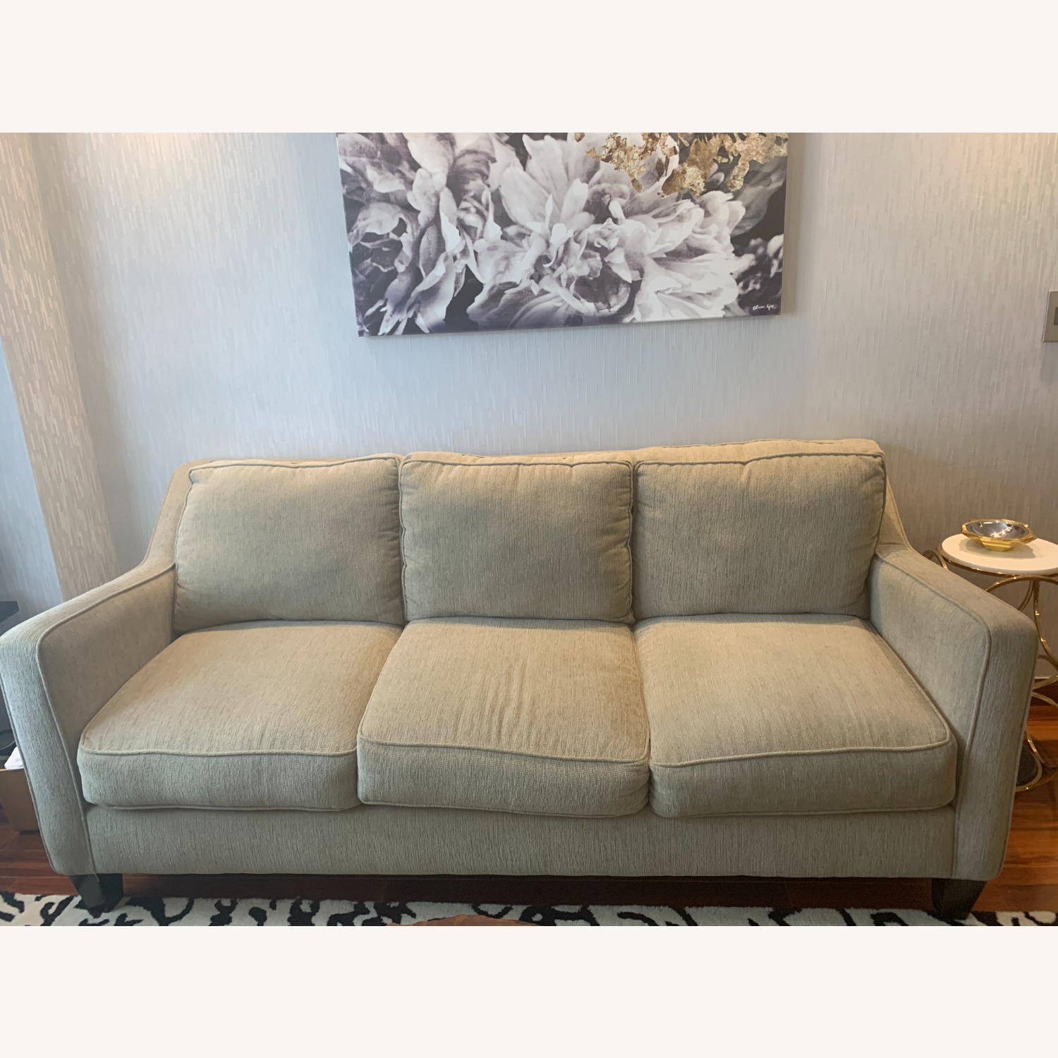 Bloomingdales Exclusive 3 Seater Fabric Sofa - image-1