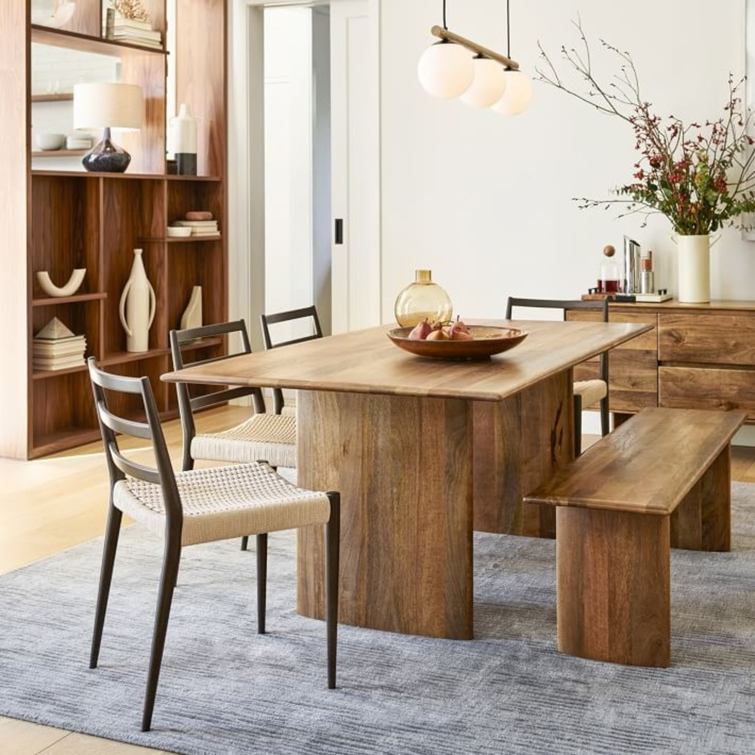 West Elm Anton Solid Wood Dining Table - image-1