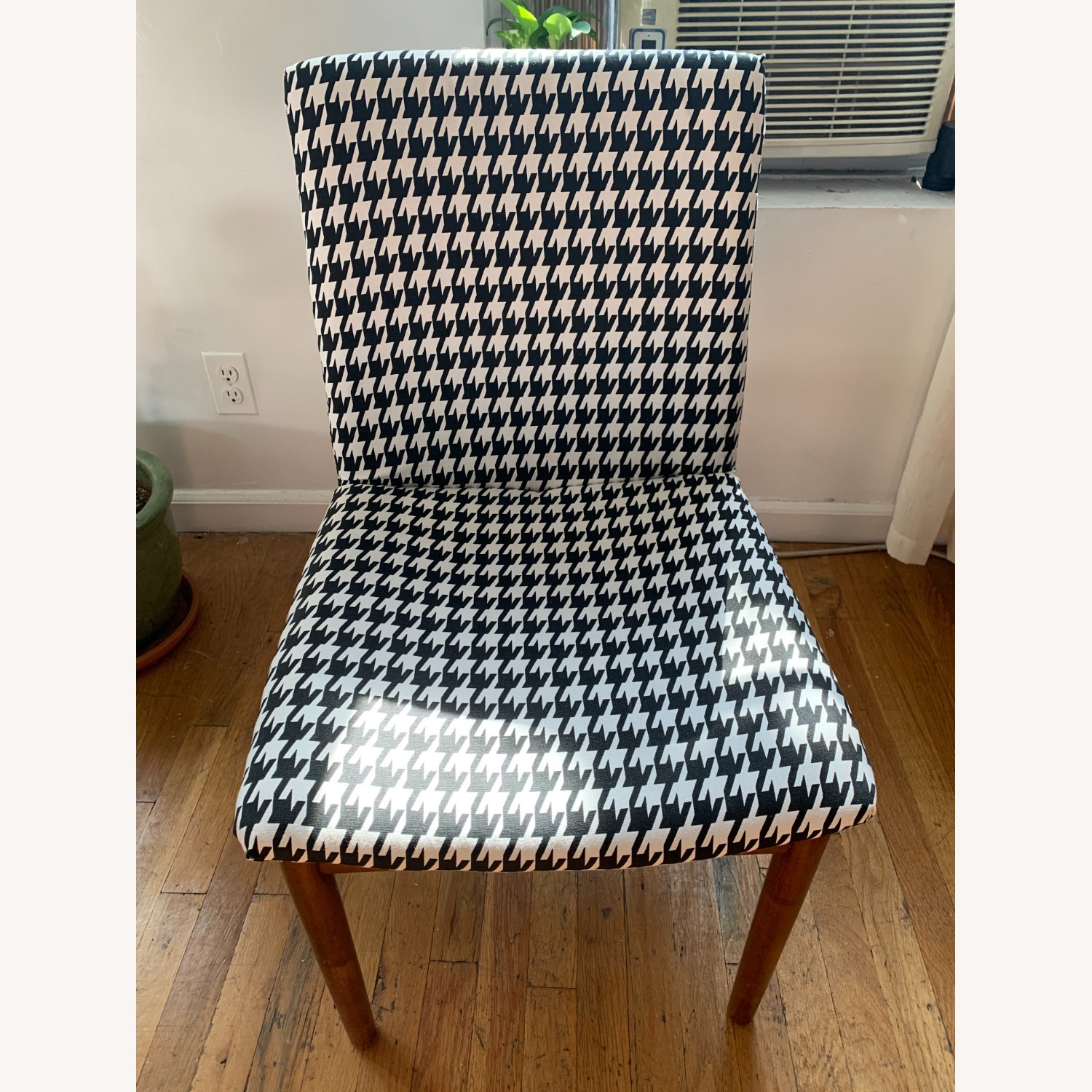 West Elm Houndstooth Customized Accent Chair - image-3