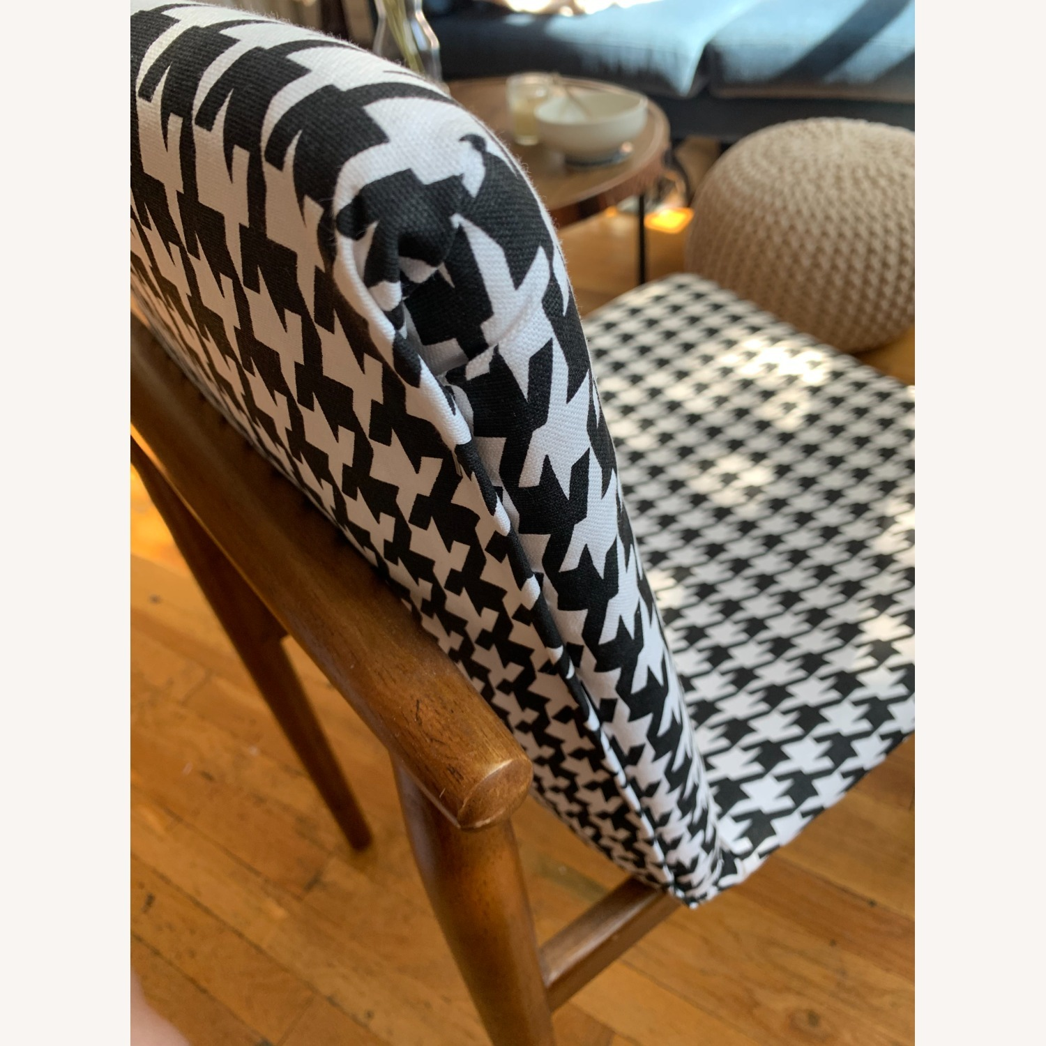 West Elm Houndstooth Customized Accent Chair - image-5