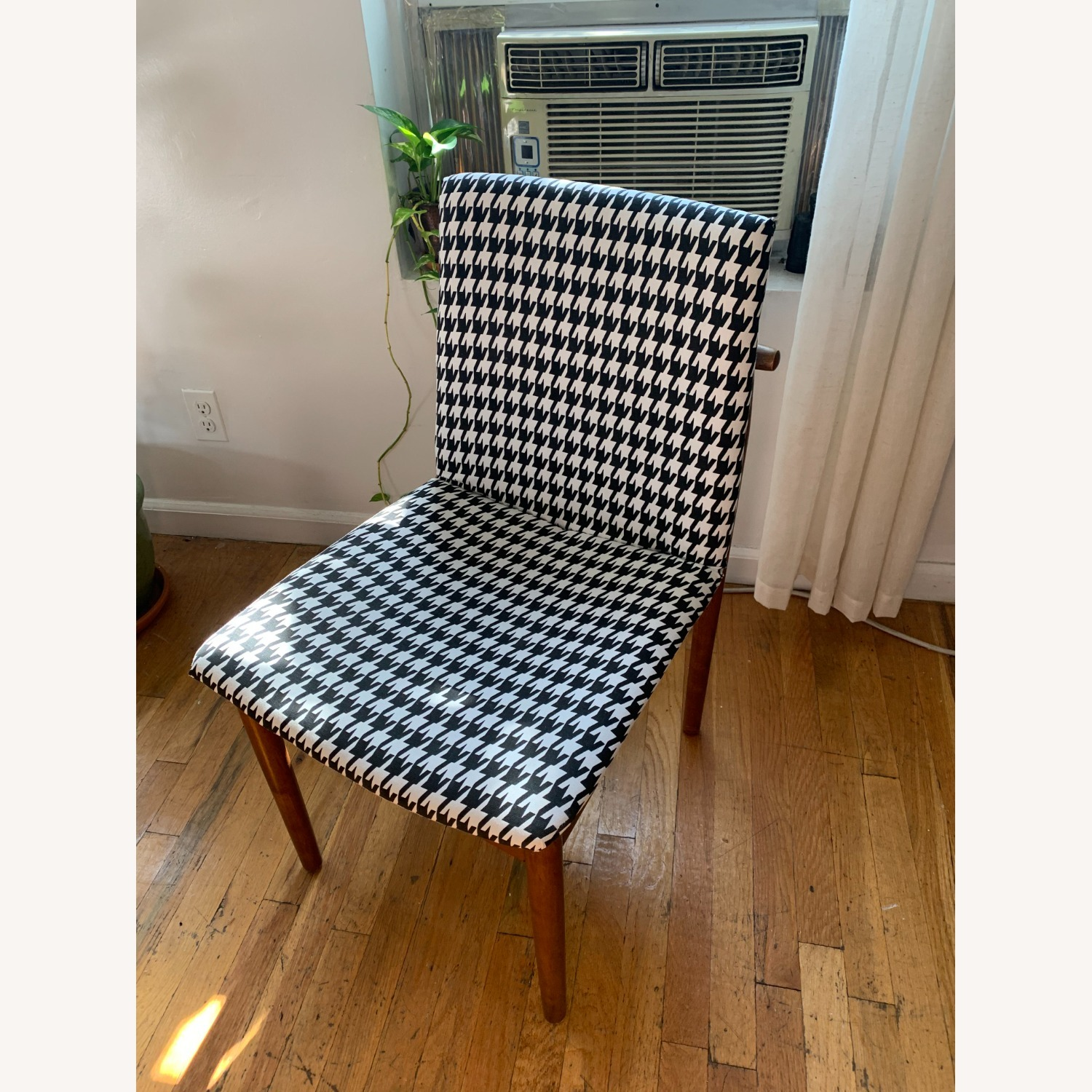 West Elm Houndstooth Customized Accent Chair - image-1