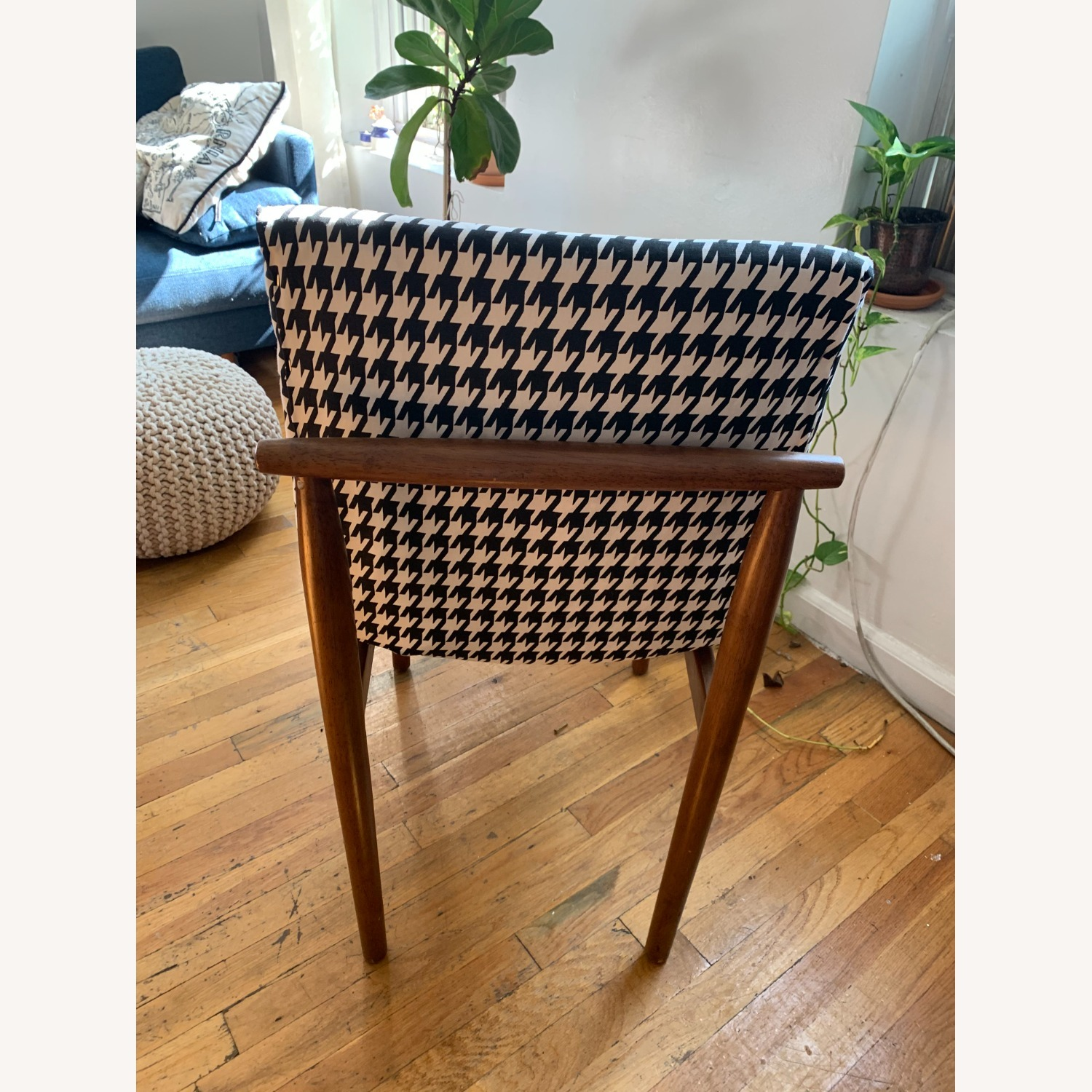 West Elm Houndstooth Customized Accent Chair - image-4
