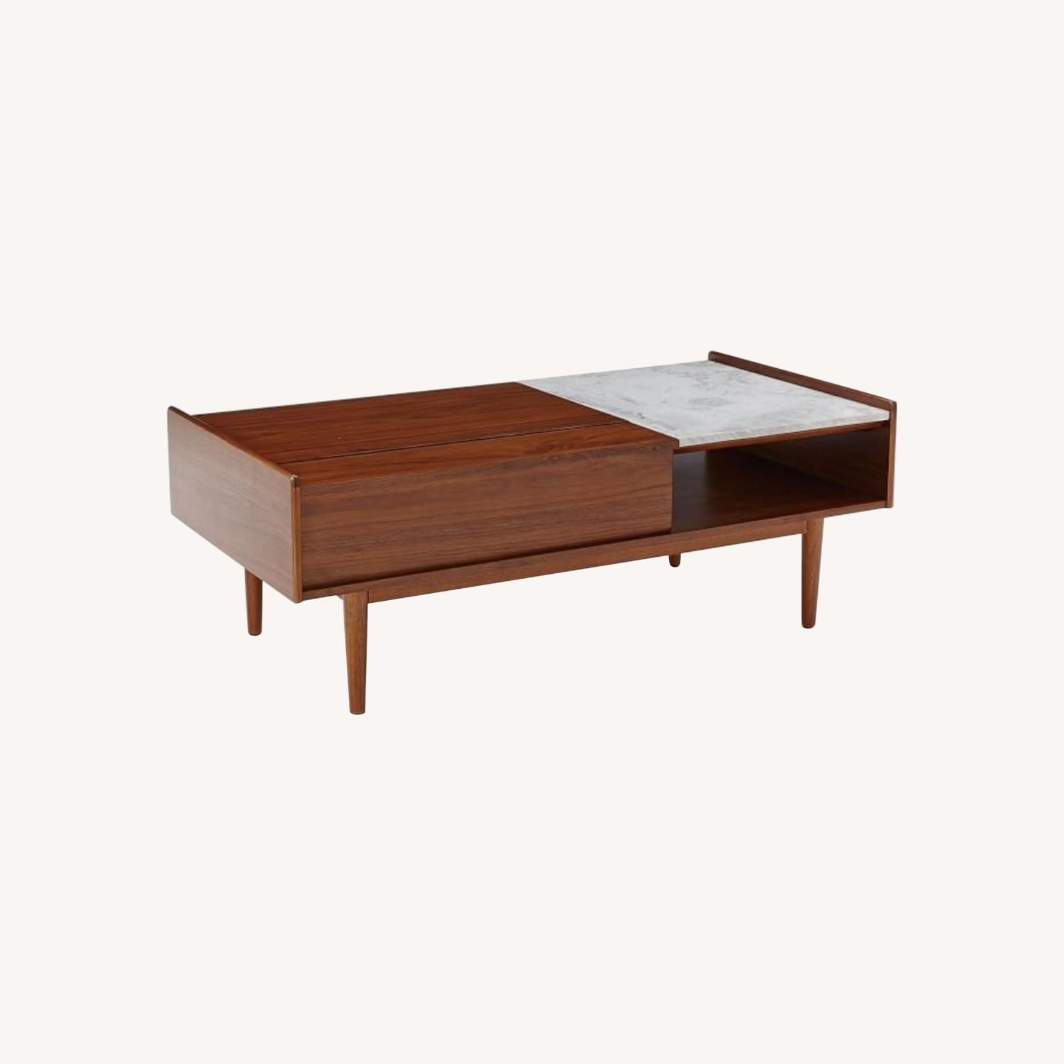 West Elm Mid Century Pop Up Coffee Table - image-0
