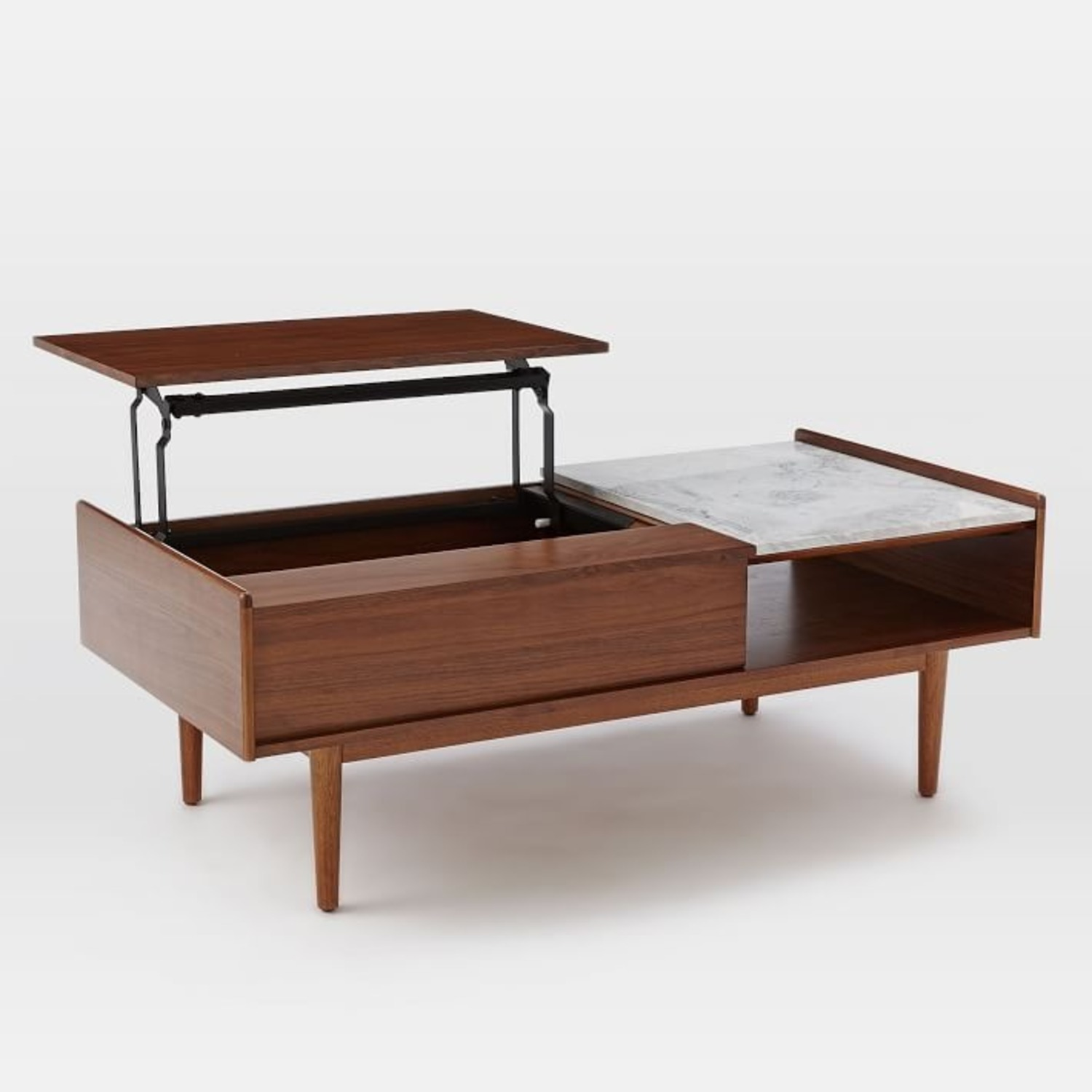 West Elm Mid Century Pop Up Coffee Table - image-1