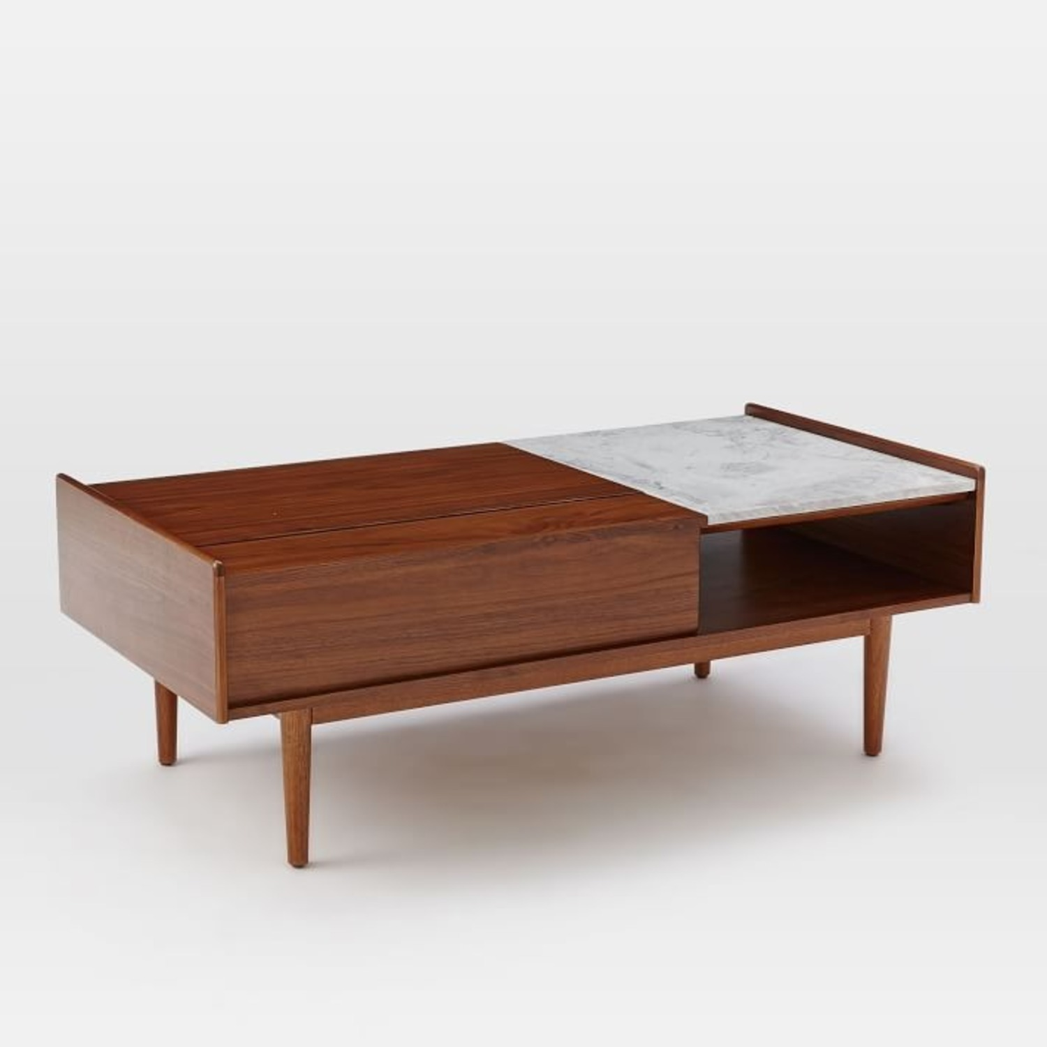 West Elm Mid Century Pop Up Coffee Table - image-3