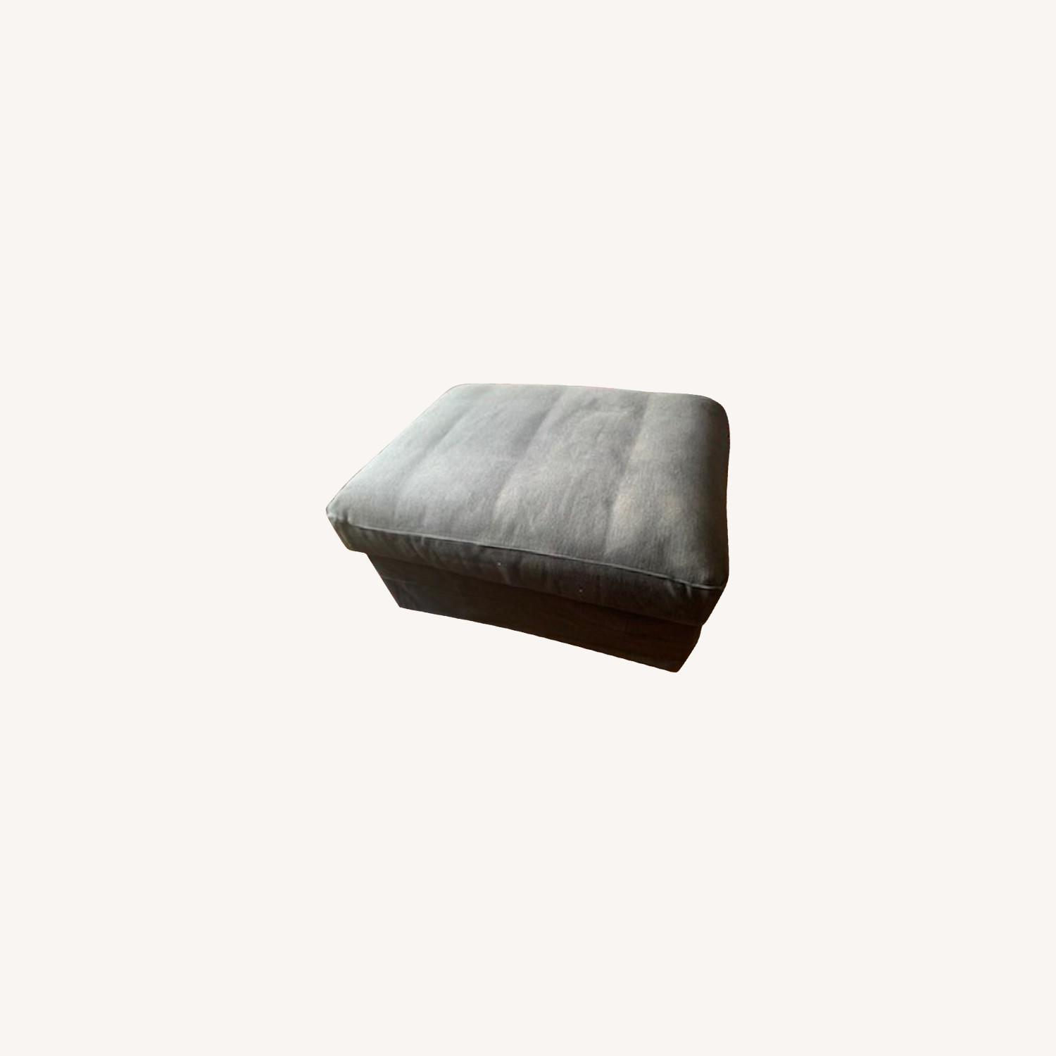 IKEA Ottoman with Storage - image-0