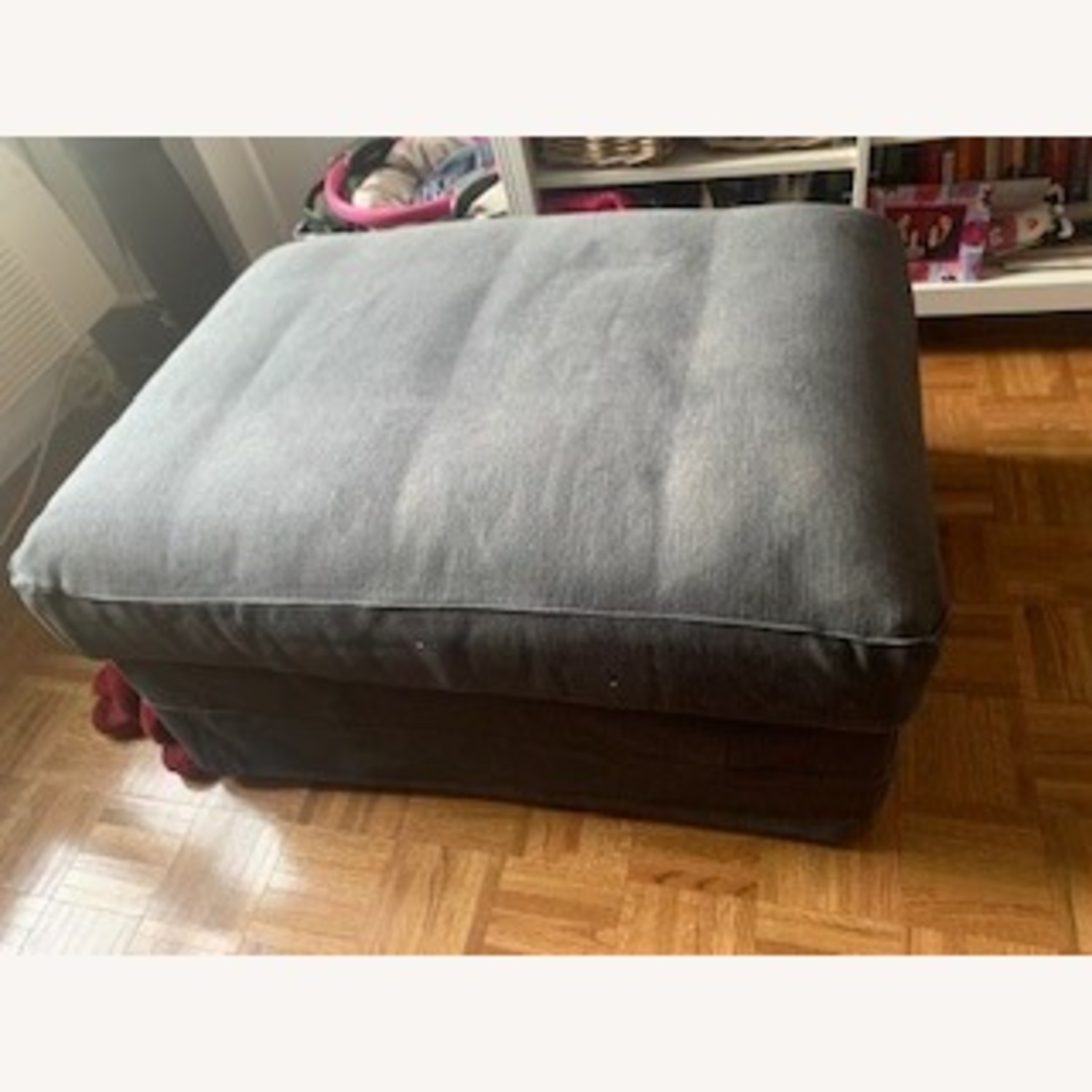 IKEA Ottoman with Storage - image-1