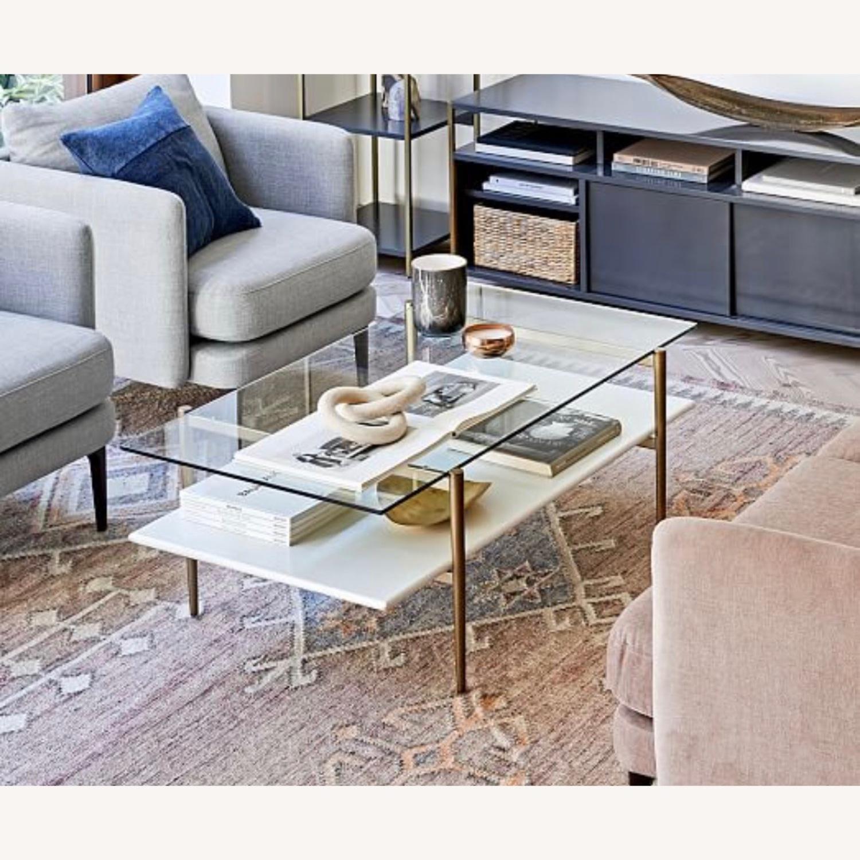 West Elm Art Display Coffee Table - image-1