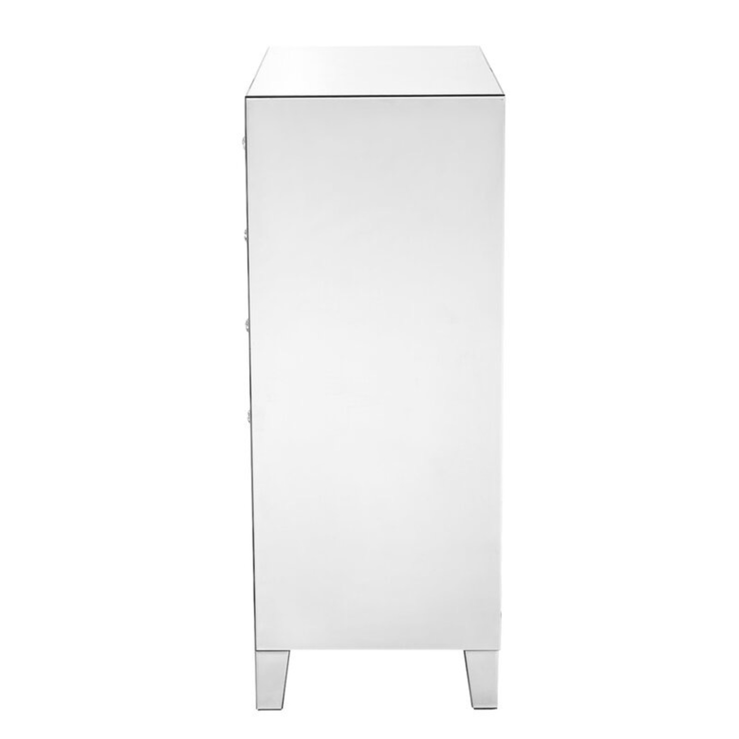 Clear Mirror 5 Drawer Lingerie Chest - image-7